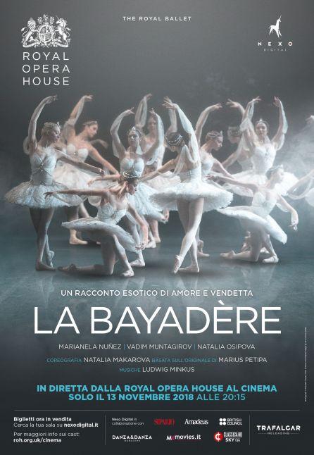 LA BAYADÈRE - DAL ROYAL OPERA HOUSE 2018/2019